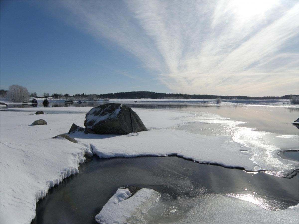 Kokemäenjoella (Kuva: Aleksi Kaislaniemi)