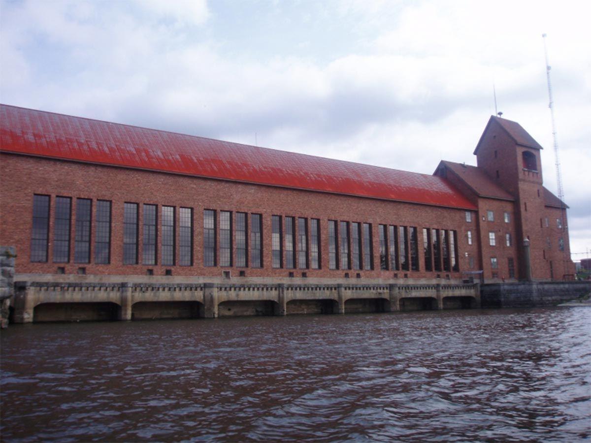 Äetsän voimalaitos (Kuva: Leena Rannikko)