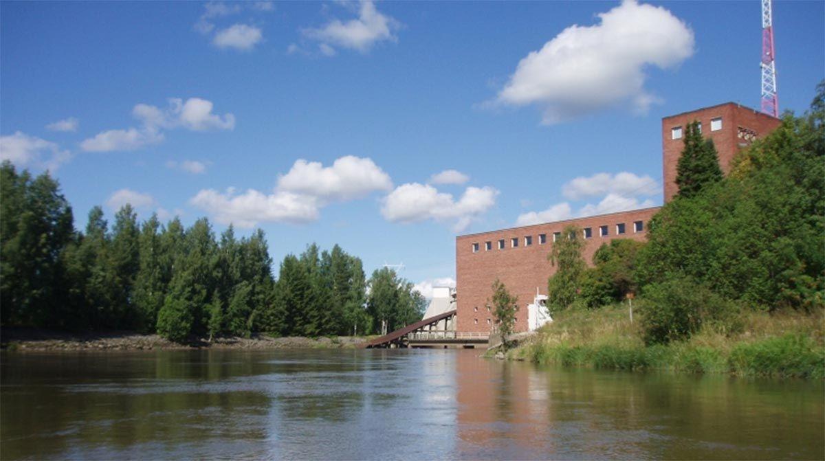 Kolsin voimalaitos (Kuva: Leena Rannikko)