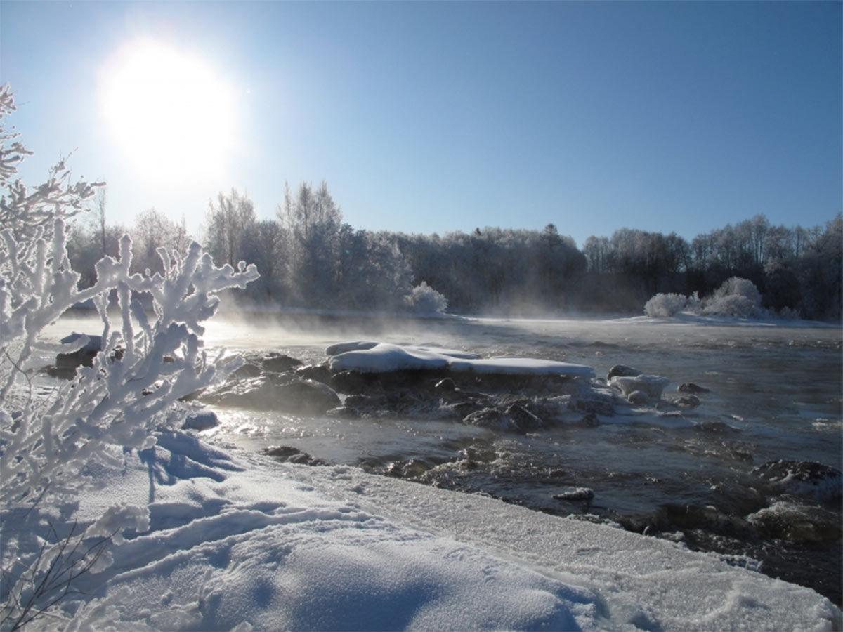 Ruskilankoski  (Kuva: Kimmo Puosi)