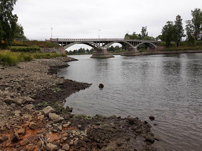 Kokemäenjoki Kokemäen kohdalla
